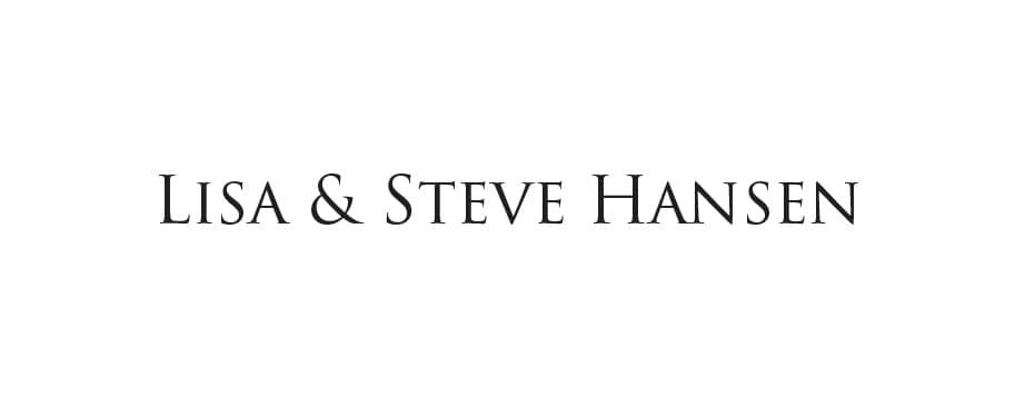 Lisa and Steve Hansen