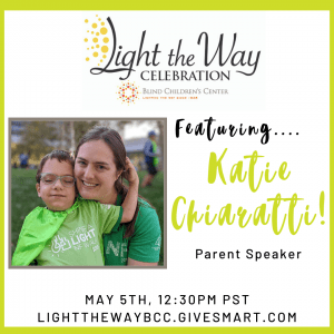 Featuring Katie Chiaratti! Parent Speaker.