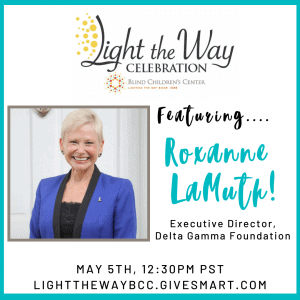 Featuring Roxane LaMuth! Executive Director, Delta Gamma Foundation.